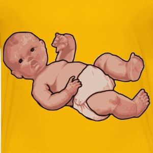 Baby in a Diaper - Kids' Premium T-Shirt