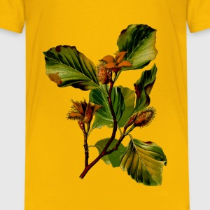 Beech (detailed) - Kids' Premium T-Shirt