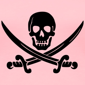 Calico Jack pirate logo - Women's Premium T-Shirt