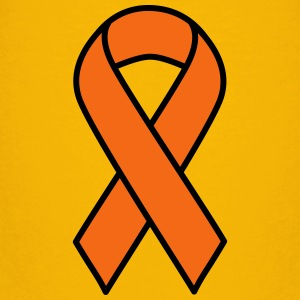 Orange Kidney Cancer and Leukemia Ribbon - Kids' Premium T-Shirt