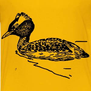 horned grebe - Kids' Premium T-Shirt