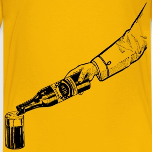 Pouring a Beer - Kids' Premium T-Shirt
