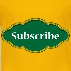 Subscribe Button - Kids' Premium T-Shirt