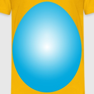 Cyan Easter Egg - Kids' Premium T-Shirt