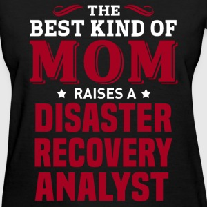 Disaster Recovery Analyst MOM - Women's T-Shirt