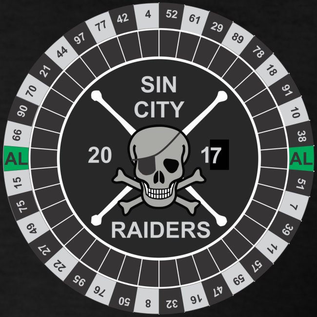 Sin City Raiders Roulette pkt