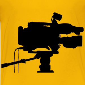 Professional Video Camera Silhouette - Kids' Premium T-Shirt