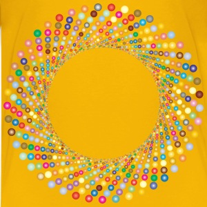 Colorful Circles Shutter Vortex 3 - Kids' Premium T-Shirt