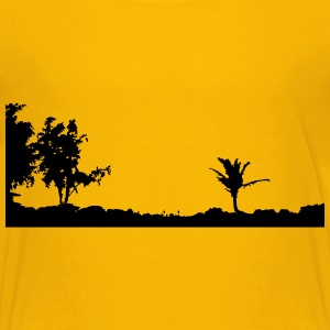Maui Sunset Silhouette - Kids' Premium T-Shirt