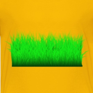 Grass Layered - Kids' Premium T-Shirt