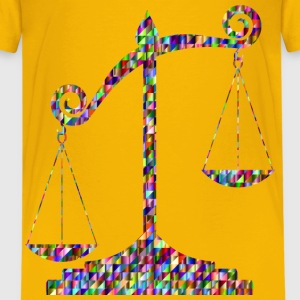 Chromatic Triangular Unbalanced Scale - Kids' Premium T-Shirt