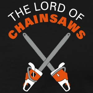 The Lord of Chainsaws T-Shirts - Men's Premium T-Shirt