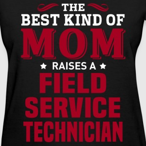 Field Service Technician MOM - Women's T-Shirt