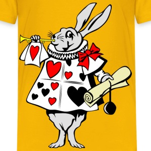 Rabbit from Alice in Wonderland - Kids' Premium T-Shirt