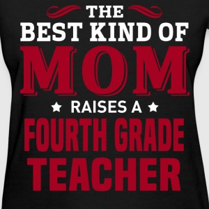 Fourth Grade Teacher MOM - Women's T-Shirt
