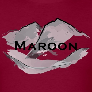 Maroon Peak Mens Tee - Men's T-Shirt