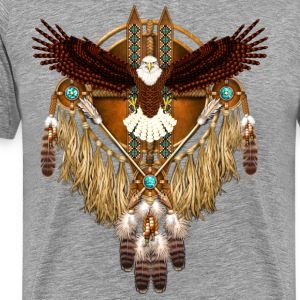 Bald Eagle Mandala - Men's Premium T-Shirt