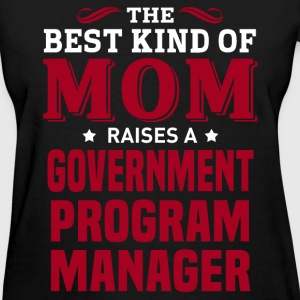 Government Program Manager MOM - Women's T-Shirt
