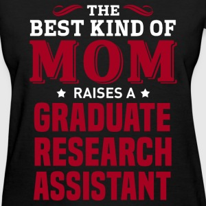 Graduate Research Assistant MOM - Women's T-Shirt