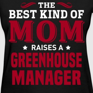 Greenhouse Manager MOM - Women's T-Shirt