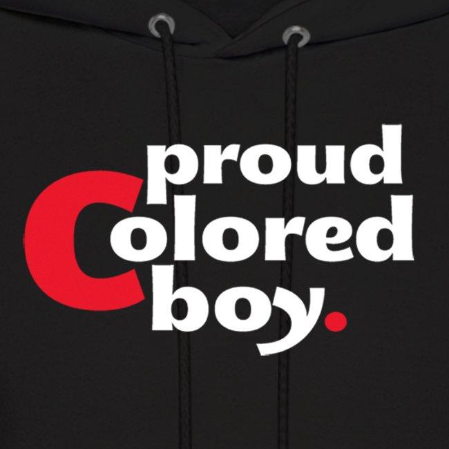Mens Proud Colored Boy Hoodie