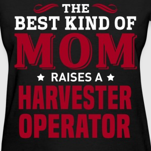 Harvester Operator MOM - Women's T-Shirt
