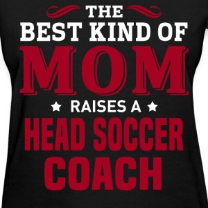 Head Soccer Coach MOM - Women's T-Shirt
