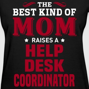 Help Desk Coordinator MOM - Women's T-Shirt