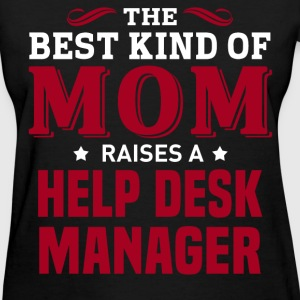 Help Desk Manager MOM - Women's T-Shirt