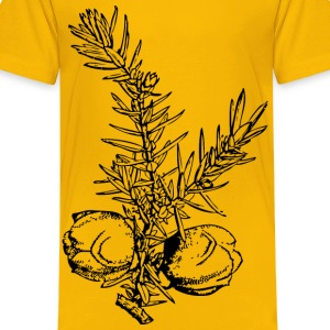 juniper branch and berries - Kids' Premium T-Shirt