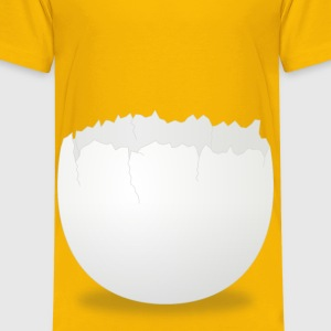 Cracked Egg - Kids' Premium T-Shirt