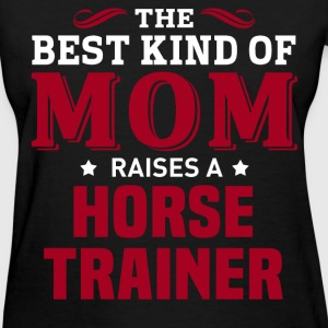 Horse Trainer MOM - Women's T-Shirt