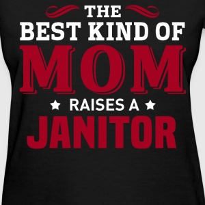 Janitor MOM - Women's T-Shirt