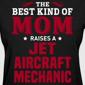 Jet Aircraft Mechanic MOM - Women's T-Shirt