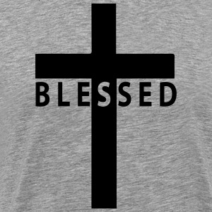 blessed cross T-Shirts - Men's Premium T-Shirt