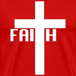 FAITH cross T-Shirts - Men's Premium T-Shirt