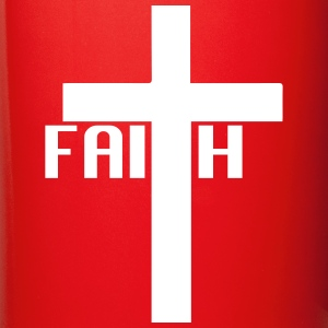FAITH cross Mugs & Drinkware - Full Color Mug