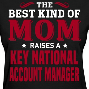 Key National Account Manager MOM - Women's T-Shirt