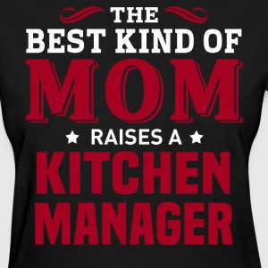Kitchen Manager MOM - Women's T-Shirt