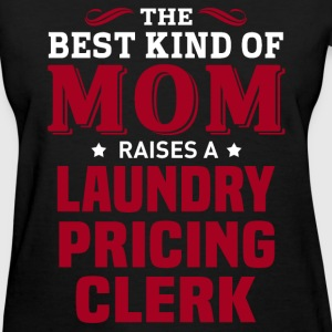 Laundry Pricing Clerk MOM - Women's T-Shirt
