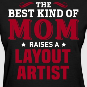 Layout Artist MOM - Women's T-Shirt