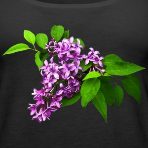 Lilacs and Leaves Tanks - Women's Premium Tank Top