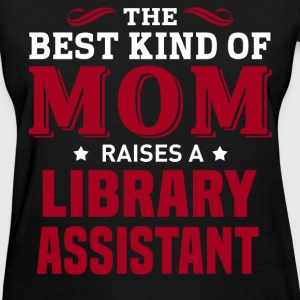 Library Assistant MOM - Women's T-Shirt