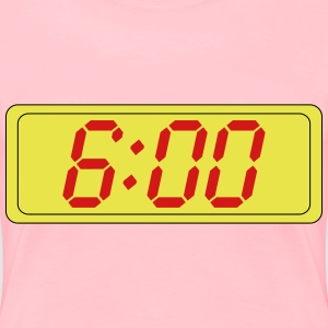 Digital Clock - Women's Premium T-Shirt
