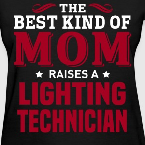 Lighting Technician MOM - Women's T-Shirt