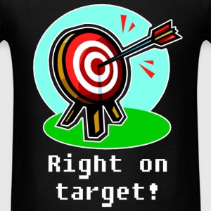 Darts - Right on target! - Men's T-Shirt