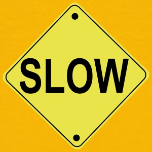 Slow Road Sign - Kids' Premium T-Shirt