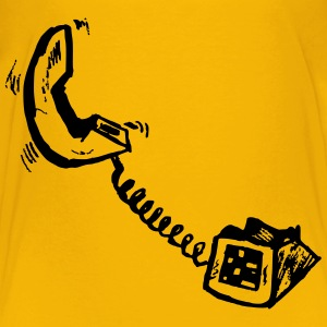 telephone - Kids' Premium T-Shirt