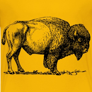 Bison 01 - Kids' Premium T-Shirt