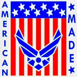 American Made USAF Wings - Men's Premium T-Shirt